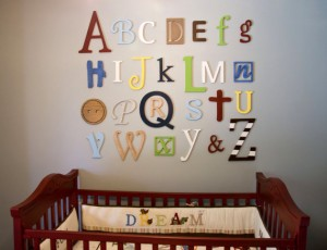 AlphabetWallLetters